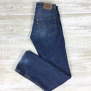 Levis 511 Skinny Denim Jeans 16R 28x28